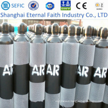 40L High Pressure Seamless Argon Gas Cylinder (ISO9809-3)