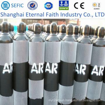 40L High Pressure Seamless Argon Gas Cylinder (ISO9809-3)