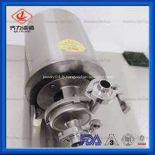 SS304 SS316L Pompe centrifuge sanitaire en acier inoxydable