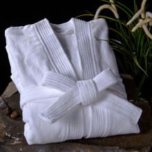 Unisexe 100 % coton léger Waffle Weave Spa Hôtel Robe vêtements de nuit