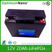 Rechargeable 12V 20ah LiFePO4 Battery