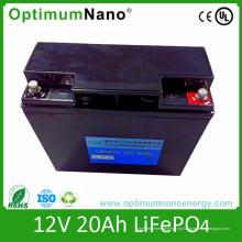 Bateria de lítio 12V 20ah para carro de turismo