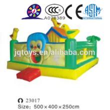 JQ23017 lâminas infláveis para venda, brinquedo inflável, deslizamento gigante inflável com pista dupla