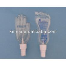 Hand- und Fußformflasche