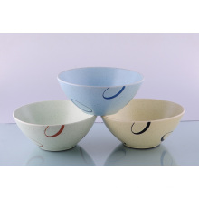 Earthenware Bowl with Customized Painting Design (CZJM3146)