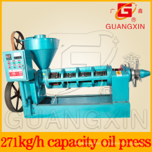High Capacity Spiral Oil Press with Automatic Temperature Control
