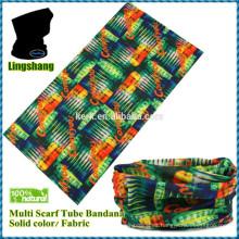 Diseña tus propios pañuelos Bufanda impresa bufanda tubular al por mayor multifunction headwear bandana