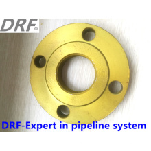 Yellow Painted Flange, Slip-on Flange