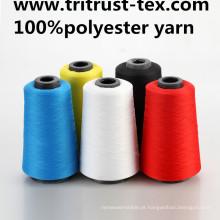 Linha de costura de poliéster girada para Jesans e T-Shirt