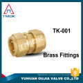 "High Quality Brand New 1/2"" to 2"" Brass Sanitary Quick Install Male Threaded Pipe Fitting"