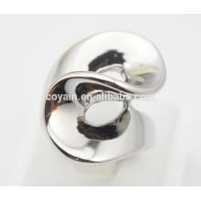 Anéis de prata especiais da forma da forma do punk do projeto para mulheres