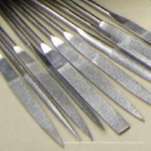 meilleur prix plaqué diamant fichiers d'aiguille pour le verre