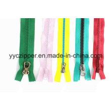 Colorful Plastic Zipper Customer Plastic Zipper