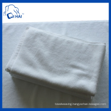100% Cotton Plain Satin White Towel