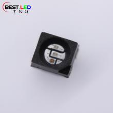 3528 RGB LED SMD черный корпус прозрачная линза