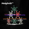 5inch Snowflake Christmas Crowns
