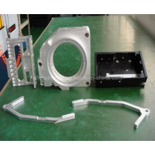 CNC mecanizado de piezas con Material de acero, aluminio, latón