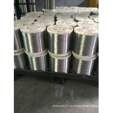 Cable de acero inoxidable AISI 316