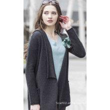 Suéter 100% de cachemira de las mujeres (1500002042)