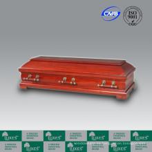 Fabrica venta de estilo europeo barato madera fúnebre ataúd Casket_China arqueta de CasketBest