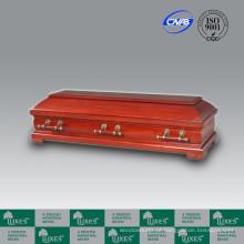 CasketBest vendendo estilo europeu caixão do Funeral de madeira barato caixão Casket_China fabrica
