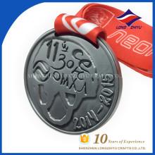 Antigo estilo esculpido Ice Hockey Theme Custom Cheap Wholesale Medal