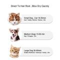Secador elétrico para animais de estimação, pente de escova para animais de estimação