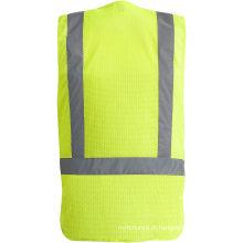 Colete de segurança respirável de alta visibilidade
