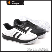 Casual Leather Shoe with PU Injection Outsole (SN5158)