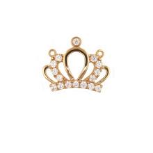 Princess Crown Pendant Inlaid Zircon