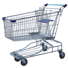 Wire Supermarket Grocery Shopping Trolley Dimensions Cart