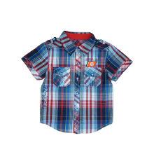 Popular Crianças Roupas, Moda Boy Camisa (BS028)