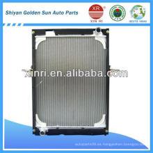 Radiador de tanque de aluminio para camiones auman Sino