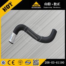 excavator spare parts,PC400-6 hose 208-03-61190