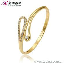Novo Xuping Moda 14k Ouro Delicatezircon Bangle