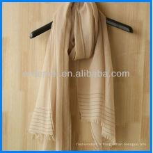 Grossiste hommes en gros écharpe élégante en coton
