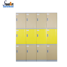 Durable clothes locker waterproof beach locker gym hospital school abs plastic locker