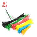 várias cores e tamanho Nylon Cable Tie