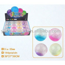 55mm Hi Glitter Led Bouncing Crystal Water Ball