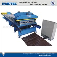 Telhas automáticas completas que fazem a máquina
