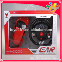 1:12 scale steering wheel rc car big remote control car toy big model plastic car