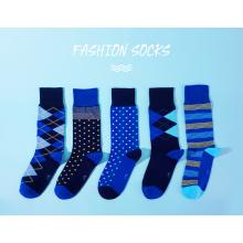 Chaussette modale business pour homme-bleu 5