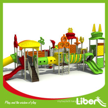 Outdoor Children Playground Plastic Toy ,Large Playground Equipment for Kids LE.TY.012