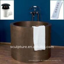Hotel Dekoration / handgemachte Kupfer Badewanne