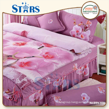 GS-PAPI-04 polyester king size bedroom sets with round pillowcase