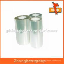 heat shrink printable PET film for bottles,cans,jars,boxes labeling