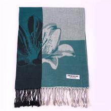 170 * 68cm Winter warmer Schal Blumenmuster Pashmina für Dame