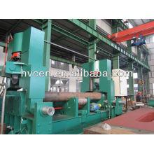 W11S-12 * 3200 cnc placa de laminación de la máquina, rodillo superior de la placa de laminación universal