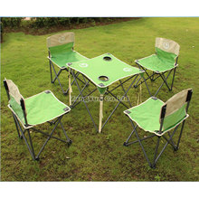 Portable Folding Tables and Chairs, Outdoor Desk-Chair, Indoor and Outdoor Dual-Use