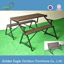 KD Design Outdoor Rattan Tische und Stühle
